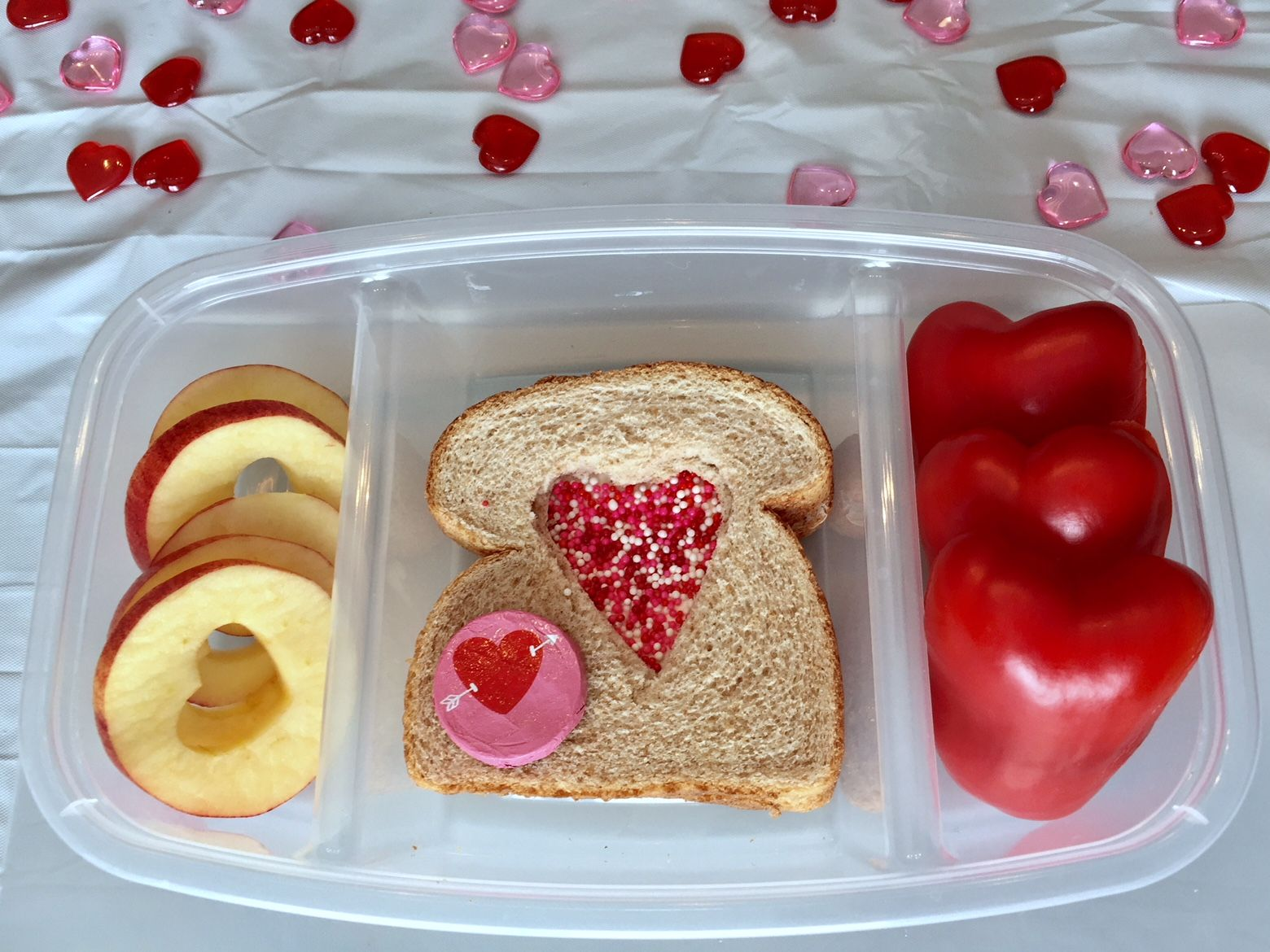 Valentine's Day Lunch Idea #1