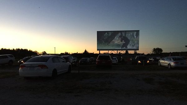 Our First Drive-In Movie